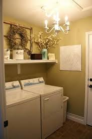 good paint color for small laundry room. small laundry room ideas - window frame with wreath good paint color for