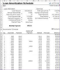 Loan Schedule Excel Template Amortization Schedule Excel Template Payment Calculator Excel