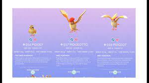 Pokemon Go Evolution: Pidgey to Pidgeotto to Pidgeot - YouTube