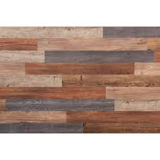l and press vinyl plank wall decor 20 sq ft case 16632 the home depot