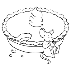 Small Picture Mouse Eating A Pie Coloring Page Action Man Coloring Page
