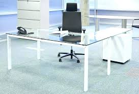 Glass top office furniture Clear Glass Modern Glass Office Furniture Glass Executive Desk Modern Glass Top Office Desk Furniture Amusing Glass Desks 24locksmithinfo Modern Glass Office Furniture 24locksmithinfo
