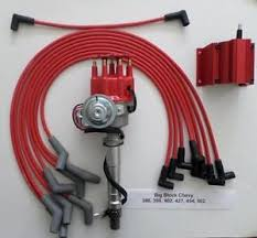 big block chevy 396 427 454 red small hei distributor coil amp image is loading big block chevy 396 427 454 red small