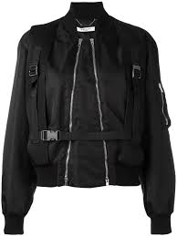 givenchy buckle detail er jacket 001 women clothing jackets givenchy jeans delicate colors