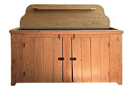 Farmhouse Sink Cabinet Farmhouse Primitive Dry Sink Cabinet W Tin Top Omero Home