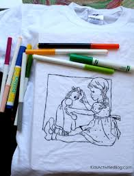 T shirt coloring page back. Coloring Page T Shirt Tutorial