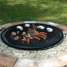 round grate for outdoor fire pits inch fire pit grate round outdoor fire pit cooking grill