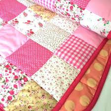 Light Pink Quilt Cover Hot Pink Baby Quilts Pink Baby Girl Quilts ... & Light Pink Quilt Cover Hot Pink Baby Quilts Pink Baby Girl Quilts Shabby  Chic Baby Quilt Adamdwight.com