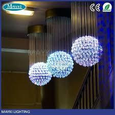 chandeliers fiber optic chandelier best pendant images on customized acceptable one ball sphere india