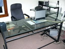 u shaped desk office depot. Glass Desk Office Depot U Shaped L Top . R