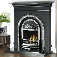 gas fire for existing cast iron fireplace insert stove combination main cast iron gas fireplace