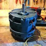 Самодельная машина на электрических двигателей