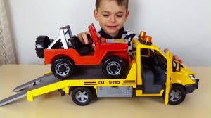 Машинки для Мальчиков Эвакуатор <b>Mercedes Benz Sprinter</b> c ...