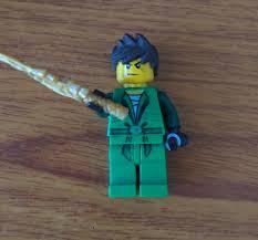Kai from season 1 as green ninja: Ninjago