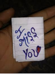 image of i miss you