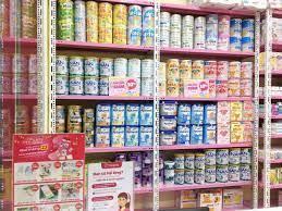 Lắp đặt kệ cho Shop mẹ và bé Nanchi Hải Phòng