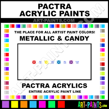 Pactra Paint Chart Pactra Metallic Candy Acrylic Paint Colors Pactra Metallic