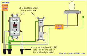 wiring diagrams for ground fault circuit interrupter receptacles Gfci Wiring Diagram wiring diagrams for ground fault circuit interrupter receptacles gfci wiring diagrams for bathroom