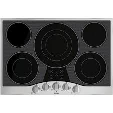viking electric cooktop. Viking 30-Inch 5-Burner Drop-In Electric Cooktop - Stainless Steel And
