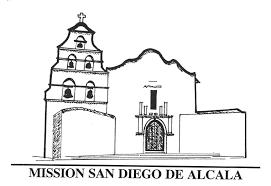 San Diego De Alcala Mission Layout Mission San Diego De Alcala Mission San Diego De Alcala Floor Plan