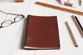 diy leather sketchbook themerrythought