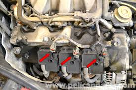 mercedes benz w203 spark plug and coil replacement 2001 2007 large image