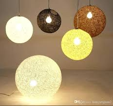 woven chandelier woven chandelier modern single hollow ball pendant lamps chain chandelier light hand woven wicker
