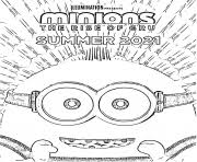 Another coloring page for kids from the upcoming movie despicable me 2. Minion Coloring Pages To Print Minion Printable
