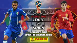 Match Italy vs Spain FIFA World Cup ...