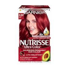 Garnier Nutrisse 6 60 Fiery Red Permanent Hair Dye