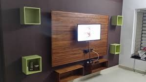 Small Picture Modular TV Panel Wooden TV Panel Manufacturer from Ernakulam