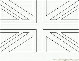 Growth British Flag Coloring Page Of Great Britain England United