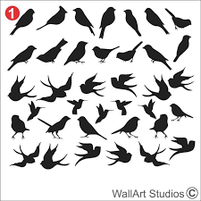 birds wall art stickers