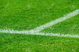 grass soccer field.  Grass Stock Photo  White Line On A Soccer Field Grass To Grass Soccer Field C