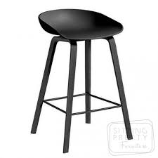 casa mia stool black seat black leg due late aug