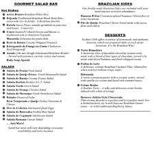 la información sobre el restaurante incluyendo los rodizio grill platos de la carta y sus precios pueden haber sufrido modificaciones desde la última