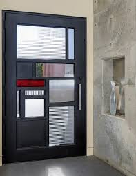 notable modern glass entry doors glass front doors entry modern with metal front door frosted glass