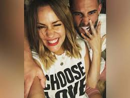 Caroline flack brings back the 90s in dungarees and varsity jacket. Andrew Brady S Emotional Tribute To Ex Fiance Caroline Flack Liverpool Echo