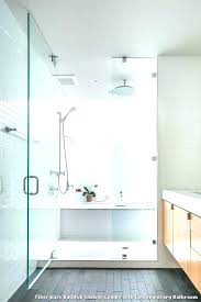 modern tub shower combo fiberglass bathtub shower combo with contemporary bathroom a white tile tub combinations