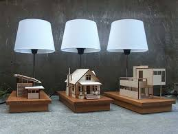 Miniature Homes Creatively Attatched to Lighting Designs: House-Lamp  [Video] - Freshome.com