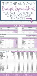 Budgeting For A Family Of 4 Easy Budget And Financial Planning Spreadsheet For Busy Families