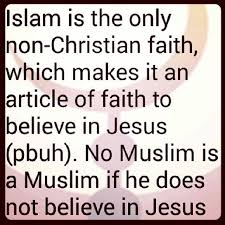 Quotes About Islam And Christianity Best of NO Moslem Is Moslem If Not Bleave In Jesus Islam Jesus
