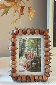 acorns for a whimsical nature frame
