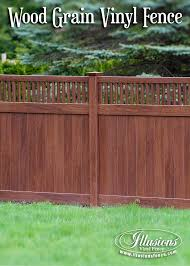 Vinyl fence styles Gothic Style Craftsman Style V37016w104 Rosewood Wood Grain Pvc Vinyl Tongue And Groove Fencing Panels With Illusions Vinyl Fence Craftsman Style Fencing Panels And Gates Illusions Vinyl Fence