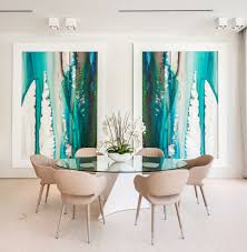 Dining Room Artwork Beach Artwork Decor Dining Room Contemporary With Large Scale