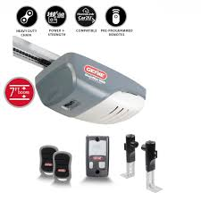 genie chainmax 1000 3 4 hp durable chain drive garage door opener