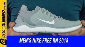 Men's <b>Nike Free RN 2018</b>   Fit Expert Review - YouTube