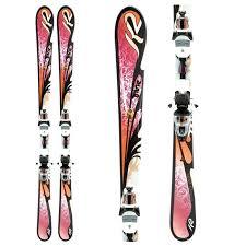 K2 Ski Size Chart 2011 K2 Sweet Luv Skis Erp 10 0 Bindings Womens 2011