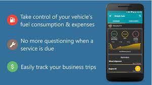 car mile tracker simply auto car maintenance mileage tracker app 40 11 apk