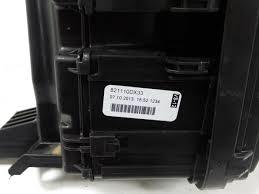 used toyota yaris ii p9 1 0 12v vvt i fuse box 82110dx33 fuse box from a toyota yaris ii p9 1 0 12v vvt i 2014